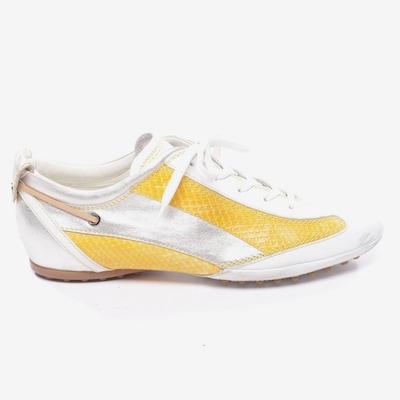 Tod's Turnschuhe / Sneaker in 38,5 in weiß, Produktansicht