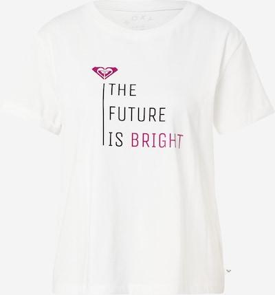 ROXY T-shirt fonctionnel 'POP SURF' en baie / noir / blanc, Vue avec produit