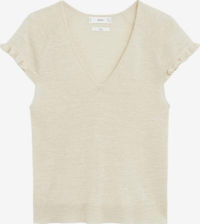 MANGO Shirt in beige, Produktansicht