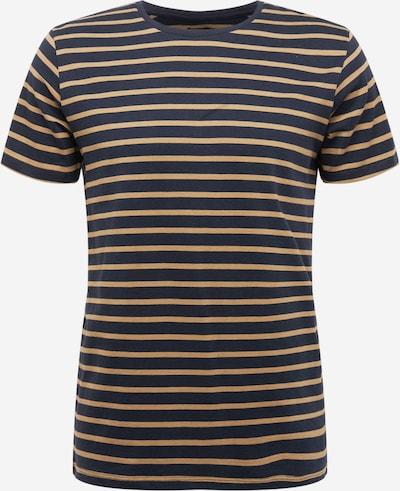 Matinique T-Shirt 'Jermane' en bleu marine / kaki, Vue avec produit