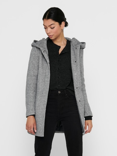 ONLY Prijelazni kaput 'ONLSEDONA' u svijetlosiva, Prikaz modela