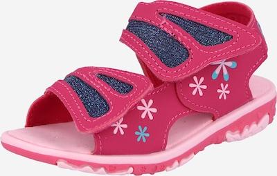KAPPA Sandále 'VLINDER' - modrá / vodová / ružová / biela, Produkt
