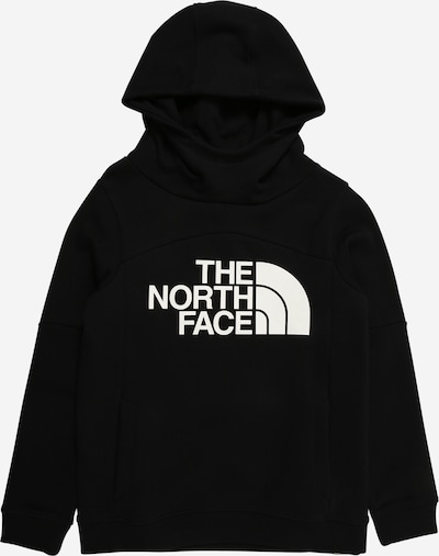 THE NORTH FACE Hoodie in schwarz / silber, Produktansicht
