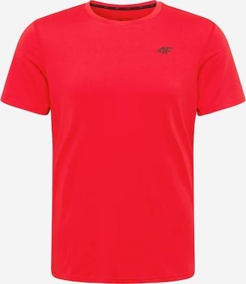 4F Sportshirt in Rot