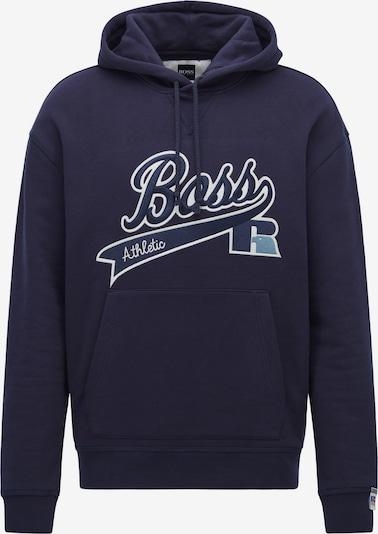 BOSS Sweatshirt 'Safa x Russell Athletics' in Navy / White, Item view
