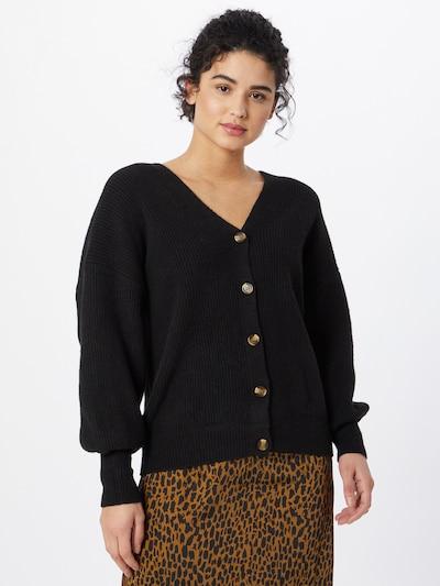 Cotton On Strickjacke in schwarz, Modelansicht