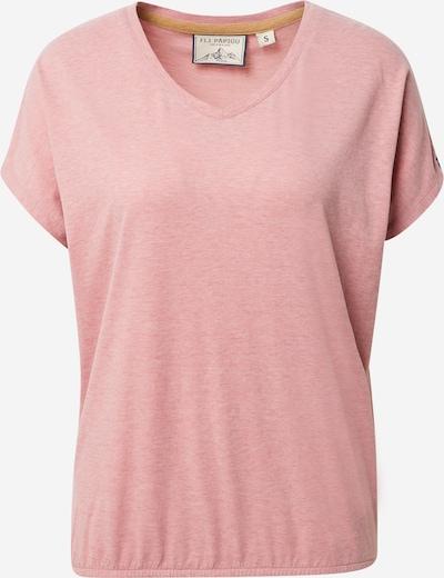 Fli Papigu T-Shirt 'The Choices we make' in pinkmeliert, Produktansicht