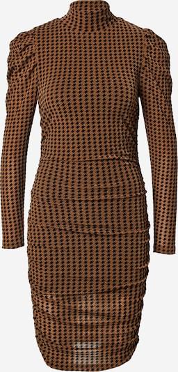 Fashion Union Haljina 'OUTIE' u smeđa / tamno smeđa, Pregled proizvoda