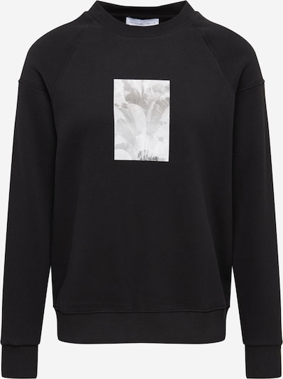 NU-IN Sweatshirt in Light grey / Black / White, Item view