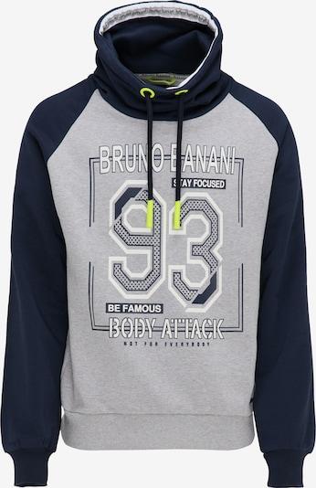 BRUNO BANANI Sweatshirt in dunkelblau / grau, Produktansicht