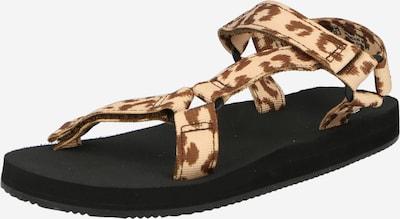 Sandale GAP pe bej / maro, Vizualizare produs