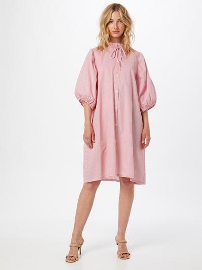 Résumé Košilové šaty - červená / bílá, Model/ka