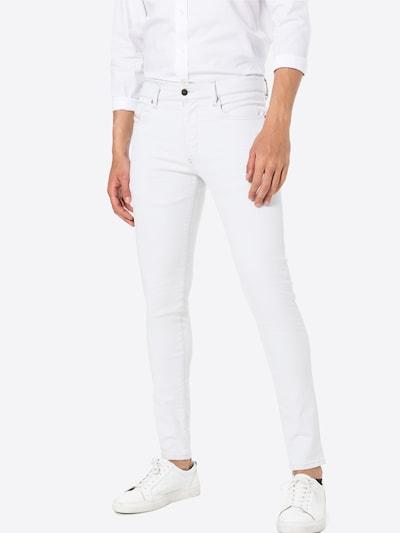 DIESEL Jeansy 'STRUKT-SP 19' w kolorze biały denimm, Podgląd na modelu(-ce)