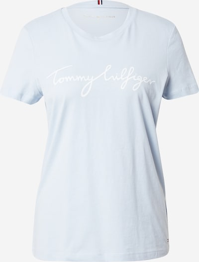 TOMMY HILFIGER Majica u svijetloplava / bijela, Pregled proizvoda