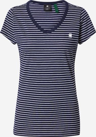 G-Star RAW Shirt 'Eyben' in de kleur Marine / Wit, Productweergave