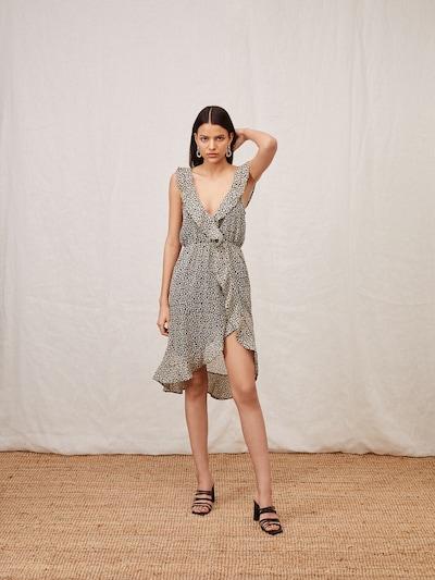 LeGer by Lena Gercke Kleid 'Chani' in gelb / grau / schwarz / weiß, Modelansicht