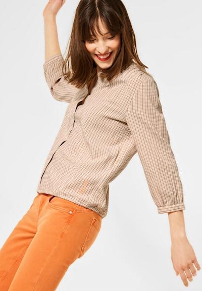 STREET ONE Bluse in beige, Modelansicht