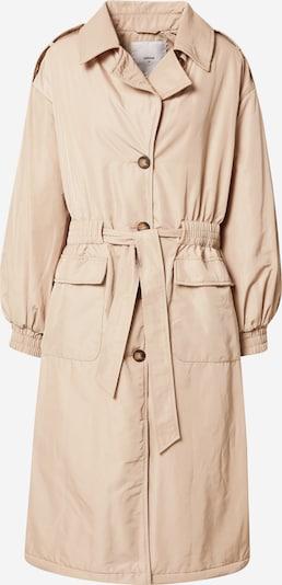 minimum Mantel in beige, Produktansicht