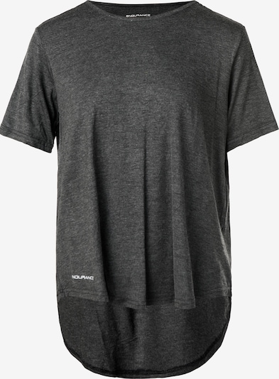 ENDURANCE T-Shirt 'PRISCILLA' im klassischen Basic-Look in schwarzmeliert, Produktansicht