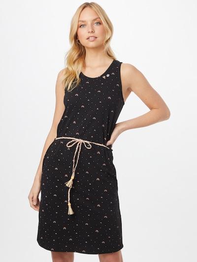 Ragwear Kleid 'INFINY' in mischfarben / schwarz, Modelansicht