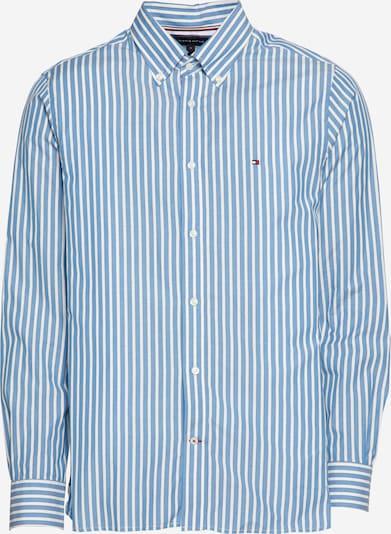 TOMMY HILFIGER Hemd in hellblau / schwarz / weiß, Produktansicht