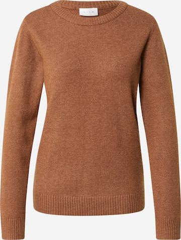 Pullover 'RIL' di VILA in marrone