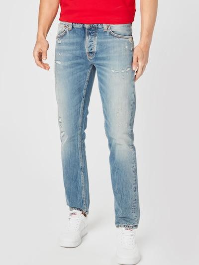 Nudie Jeans Co Jeans 'Grim Tim' in blue denim, Modelansicht