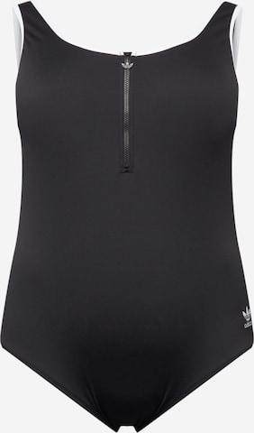 ADIDAS ORIGINALSJednodijelni kupaći kostim - crna boja