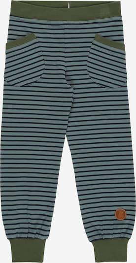 FINKID Pantalon 'TIIKERI' en bleu marine / opal / vert clair, Vue avec produit