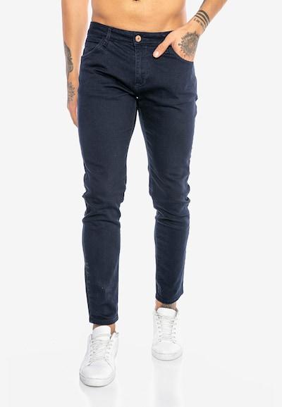 Redbridge Jeanshose 'Saitama Colored' in dunkelblau, Modelansicht