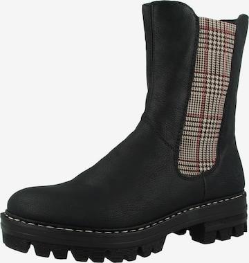 Chelsea Boots RIEKER en noir