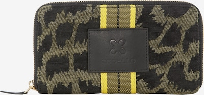CODELLO Wallet in Yellow / Olive / Black, Item view
