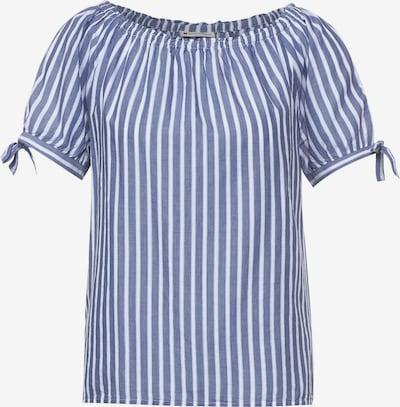 Bluză STREET ONE pe albastru / alb, Vizualizare produs