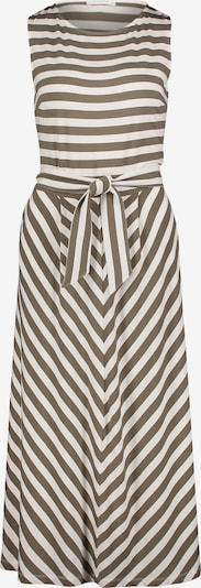 Betty & Co Kleid in braun / weiß, Produktansicht