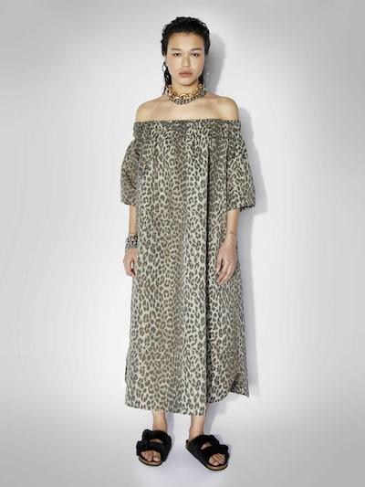 ZOE KARSSEN Kleid in beige / braun / schwarz, Modelansicht