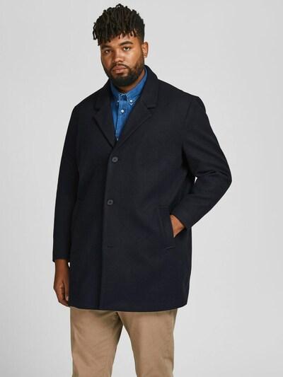 JACK & JONES Mantel in dunkelblau, Modelansicht