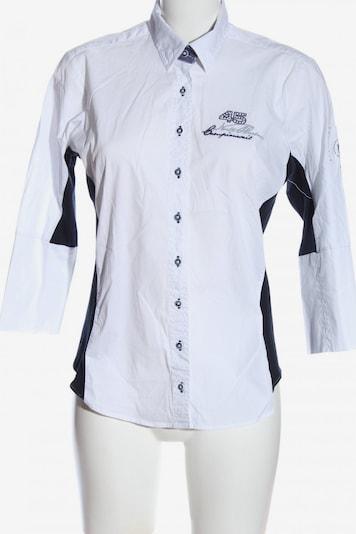 LISA CAMPIONE Langarmhemd in M in schwarz / weiß, Produktansicht