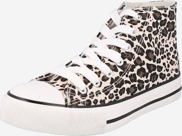 NEW LOOK Sneaker 'MARKIN' in Beige