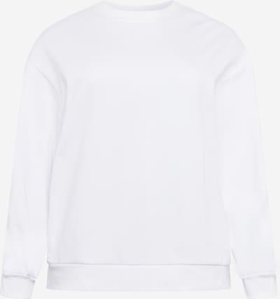 Urban Classics Curvy Sweat-shirt en blanc, Vue avec produit