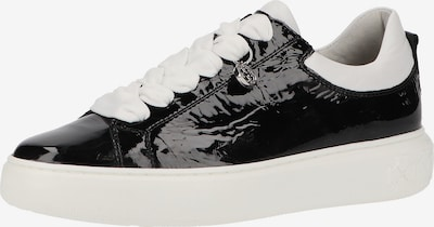 PETER KAISER Baskets basses en noir / blanc, Vue avec produit