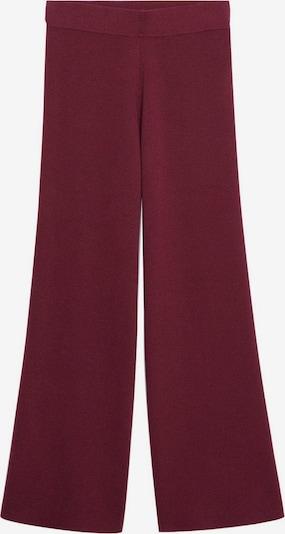 MANGO Broek in de kleur Robijnrood, Productweergave