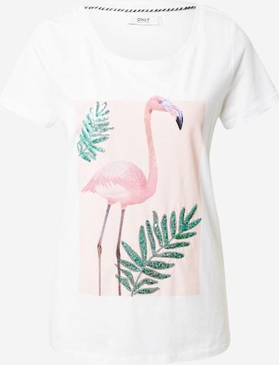 ONLY Tričko 'Kita Summer Seq' - zmiešané farby / biela, Produkt