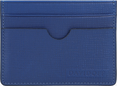 Davidoff Kreditkartenetui Leder 9,5 cm in blau, Produktansicht
