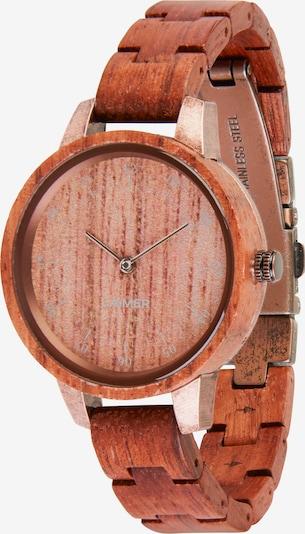 LAiMER Uhr 'Edna' in rostbraun, Produktansicht