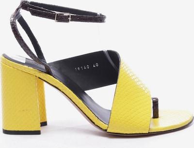 Dries Van Noten Sandaletten in 40 in gelb, Produktansicht