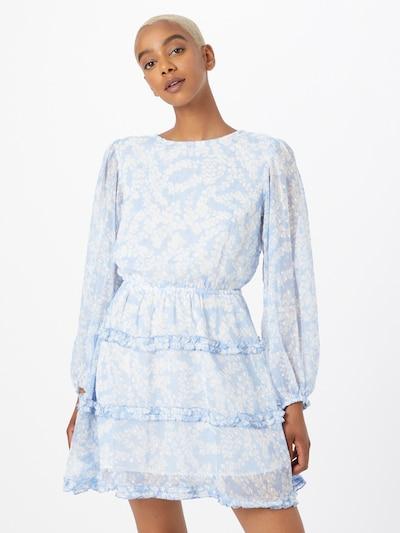 Gina Tricot Šaty 'Sonja' - modrá / biela, Model/-ka