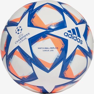 ADIDAS PERFORMANCE Fußball in blau / orange / weiß, Produktansicht