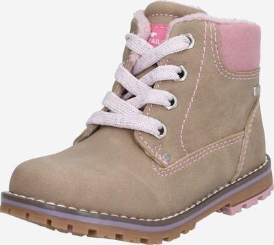 TOM TAILOR Laarzen in de kleur Beige / Rosa, Productweergave