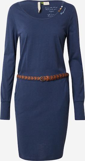 Ragwear Kleid 'Montana' in navy / karamell, Produktansicht
