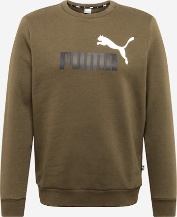 PUMA Sweatshirt in Grün